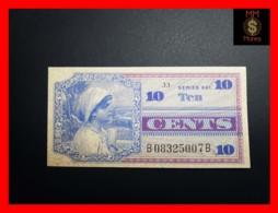 U.S.A. 10 Cents 1968 P. M65  Serie 661  UNC- - Certificati Di Pagamenti Militari (1946-1973)