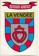 VENDEE - Blason Adhésif - France