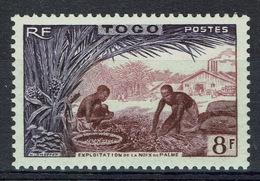 Togo, 8f., Palm Oil, 1954, MH VF - Ungebraucht