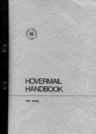 1971 Hoovermail Handbook 1st Edition. Hovercraft - Ship Mail And Maritime History
