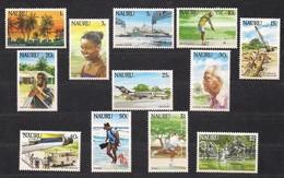 Nauru 1984 Yvertn° 289-300  *** MNH Cote 20 € Série Courante - Nauru