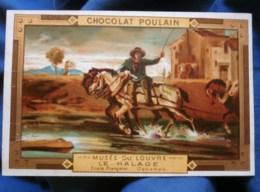 Chromo Chocolat Poulain N° 750 Les Chevaux De Halage L502 - Poulain