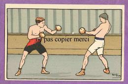HARRY ELIOTT - Boxe Boxeurs Sport - Illustrateur - Elliot