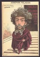 CPM Peladan ésotérisme Rose Croix Non Circulé Caricature - Philosophy