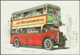 London Transport ST Bus - Golden Era Postcard - Autobus & Pullman