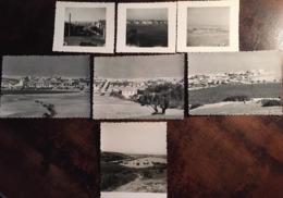 7 Photos, Algérie, La Madrague (El Djamila), Castiglione (Bou Ismaïl) - Août 1957, Autres Bords De Mer - Africa