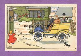 HARRY ELIOTT - Voiture Automobile Famille Bourgeoisie - Illustrateur - Elliot