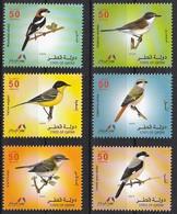 2009 Qatar Birds Set And Souvenir Sheet (** / MNH / UMM) - Passereaux