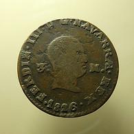Spain 3 Maravedis 1826 PP - [ 1] …-1931 : Koninkrijk