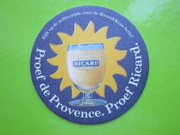 SOUS-BOCK RICARD Proef De Provence - Bierdeckel