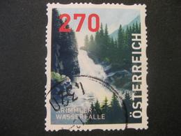 Österreich- Dispensermarke Krimmler Wasserfälle Gestempelt - 1945-.... 2. Republik
