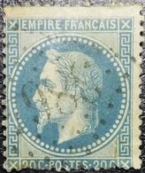 N°29B. Oblitéré Losange G.C. N°3864 Saint-Symphorien-d'Ozon - 1863-1870 Napoléon III Con Laureles