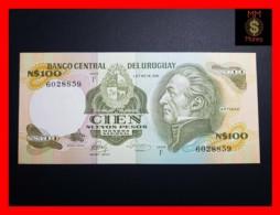 URUGUAY 100 Nuevos Pesos 1986  P. 62 C Serie F  UNC - Uruguay