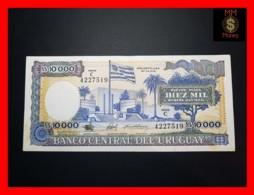 URUGUAY 10.000 10000  Nuevos Pesos 1987  P. 67 B Stain  XF - Uruguay