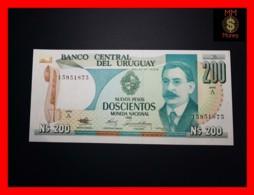 URUGUAY 200 Nuevos Pesos 1986  P. 66  UNC - Uruguay