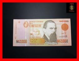 URUGUAY 2.000 2000  Nuevos Pesos 1989  P. 68  UNC - Uruguay