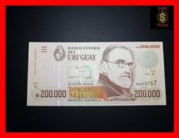 URUGUAY 200.000 200000  Nuevos Pesos 1992  P. 72  UNC - Uruguay
