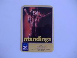 Cinema Films Movies Vista Video Mandinga Portugal Portuguese Pocket Calendar 1987 - Calendars