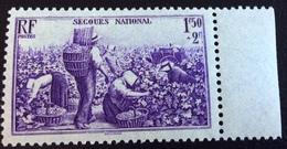 N° 468   NEUF ** SANS  CHARNIÈRE ( LOT:1173 ) - Francia