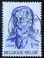 België - Belgique - (o)used - Ref B1/4 - 1971 - Michel Nr.1644 - Georges Hubin - Brugge - Gebraucht