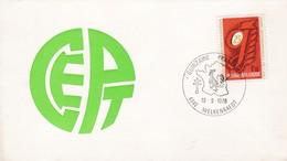 Enveloppe Cover Brief FDC 1550 Europa Cept Quinzaine Française Welkenraedt - 1961-70