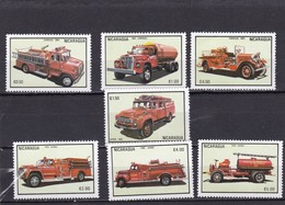 Nicaragua Nº 1300 Al 1302 Y A1042 Al A1045 - Nicaragua