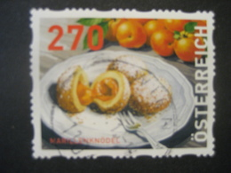 Österreich- Dispensermarke Marillenknödel Gestempelt - 1945-.... 2. Republik