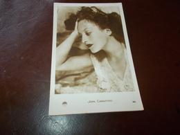 B765  Joan Crawford Non Viaggiata Cm14x9 - Attori