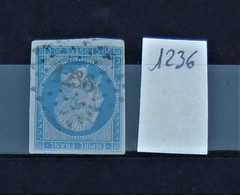 05 - 20 // France N° 16 - Oblitération PC 1236 - Falaise - Calvados - 1853-1860 Napoléon III