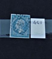 05 - 20 // France N° 14 - Oblitération PC 441 - Bordeaux - 1853-1860 Napoléon III