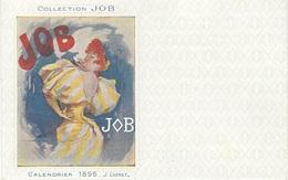ILLUSTRATEUR CHERET - COLLECTION JOB - CALENDRIER 1896 - J. CHERET - - Chéret