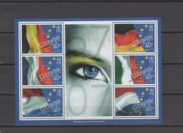 Gibraltar 2007 Michel Block 77 50th Anniversary Of Treaty Of Rome S/s MNH - Gibraltar