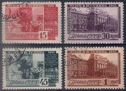 Russia 1941, Michel Nr 821-24, Used - 1923-1991 UdSSR