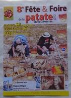 Carte Maximum Card  Fête De La Patate Pomme De Terre  2010 Carte Photo Timbre Parmentier - Landwirtschaft