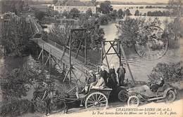 49 . N°205534; Chalonnes Sur Loire. Le Pont Sainte Barbe Des Mines - Chalonnes Sur Loire
