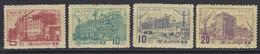 """North Korea - 1961 """"Factories"""" (MNH) - Sc.## 276-279 - Korea, North"""