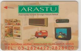 MALAYSIA (Uniphonekad)- Arastu , CN:54USBA, Tirage 50.000, Used - Malaysia