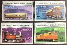 Ghana 1978 Railways MNH - Ghana (1957-...)