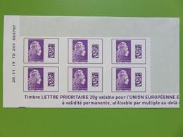 Timbre France YT 1656 AA - Coin Daté - Marianne D'Yseult Digan - L'engagée - Lettre Internationale - Neuf - 2019 - 2010-....