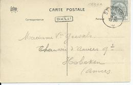 Zichtkaart Spa Met OCB 81 - Afstempeling STAVELOT - Lijnstempel HOCKAI - 1893-1907 Wappen