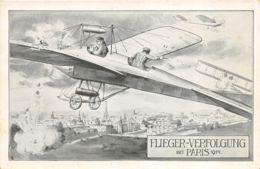 Flieger-Verfolgung Bei Paris 1914 - Uniforms