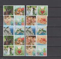 Gibraltar 2007 Michel 1224-1233 Greeting Stamps With Labels Set Of 10 MNH - Gibraltar