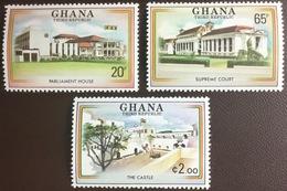 Ghana 1980 Third Republic Commemoration MNH - Ghana (1957-...)