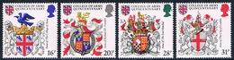 Grande-Bretagne - Héraldique 1113/1116 (année 1984) ** - 1952-.... (Elisabetta II)