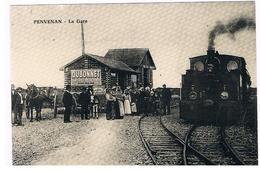CPSM PENVENAN La Gare - Gares - Avec Trains