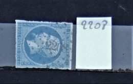 05 - 20 // France N° 14 - Oblitération PC 2208 - Muro - Corse - Indice : 15 - 1853-1860 Napoléon III