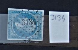05 - 20 // France N° 14 - Oblitération PC 3134 - St Julien Du Sault - Yonne - 1853-1860 Napoléon III