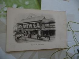 CPA Japon Japan Précurseur Avant 1906 Yokohama Théâtre    Paypal Ok Out Of Europe With Conditions - Yokohama