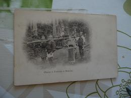 CPA Japon Japan Précurseur Avant 1906 Chaise à Porteur à Hakone   Paypal Ok Out Of Europe With Conditions - Otros