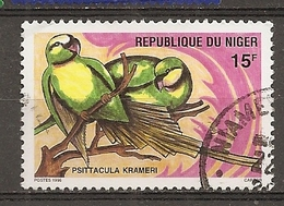 Niger 1996 Oiseaux Birds Obl - Niger (1960-...)